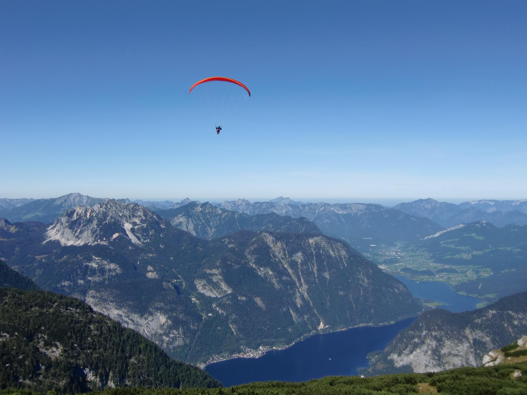 Landhaus Osborne - Paragliding